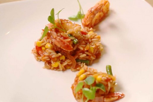 Seafood Jollof Rice Recipe