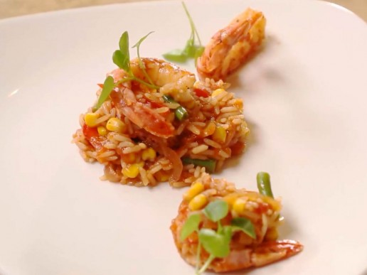 Seafood Jollof Rice Recipe