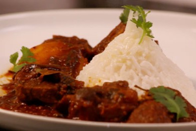 Durban Style Lamb Knuckle Curry