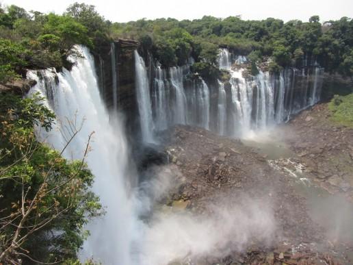 Quedas de KalaAfrican Waterfalls Quedas de Kalandula, Angolandula, Angola