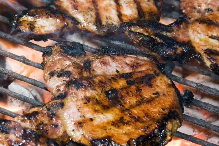 Braai Gammon Steak with Orange and Mustard Glaze