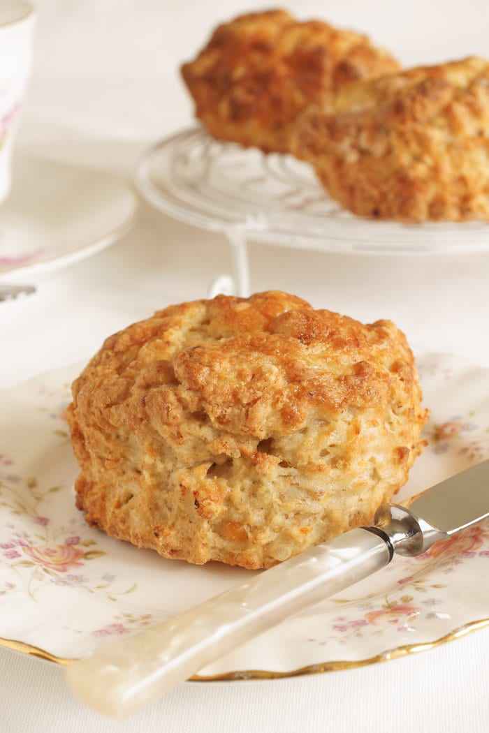 Cheese and Olive Scones