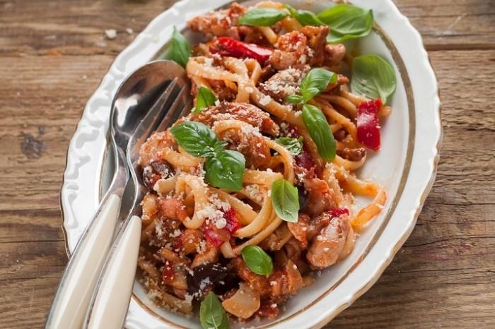 Chicken Vegetable Pasta 700x587