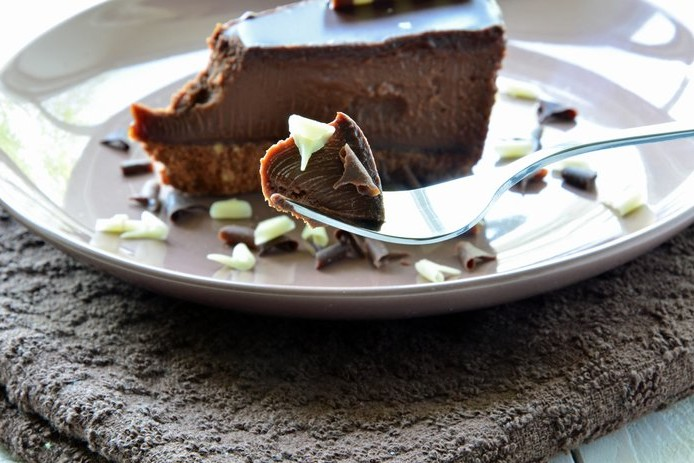 Chocolate and Ginger Cheesecake