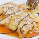 Cinnamon Smoked Bananas with Salted Caramel1