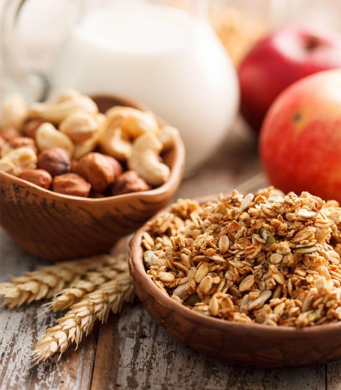 Clover Krush Apple Juice Sweetened Granola Demand Africa