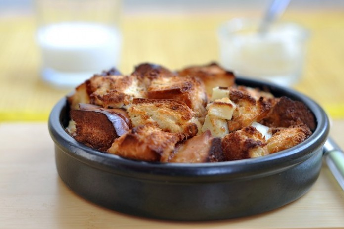 Empty The Fridge Savoury Bread Pudding 700x464