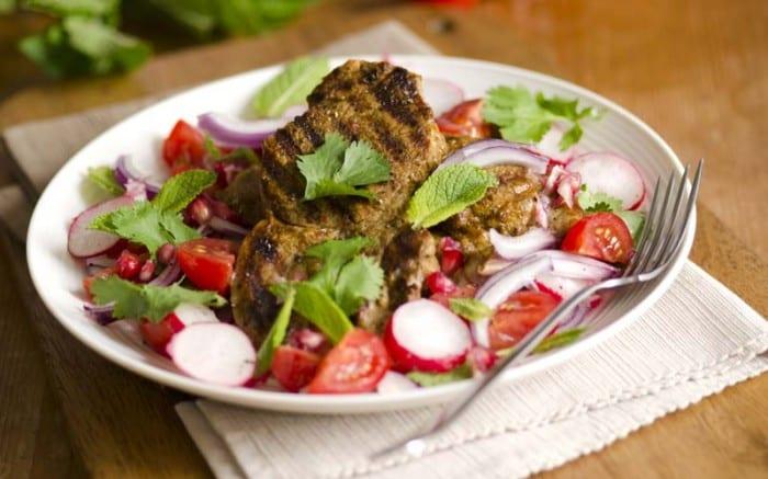 Lamb salad 700x437