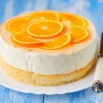 Orange and ginger cheesecake 700x489