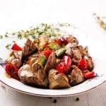 Paprika Chicken livers 700x489