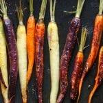 Roasted Carrots with Orange Juice