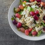 Smoked Chicken Apple and Celery Salad with Candied Walnuts 700x463
