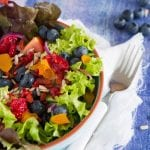 Summer Salad with Orange Vinaigrette 700x587
