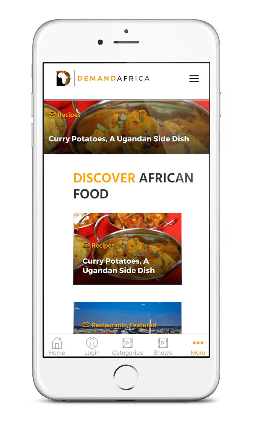 demand africa food iphone