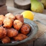 zambian fritters with orange sauce 700x437
