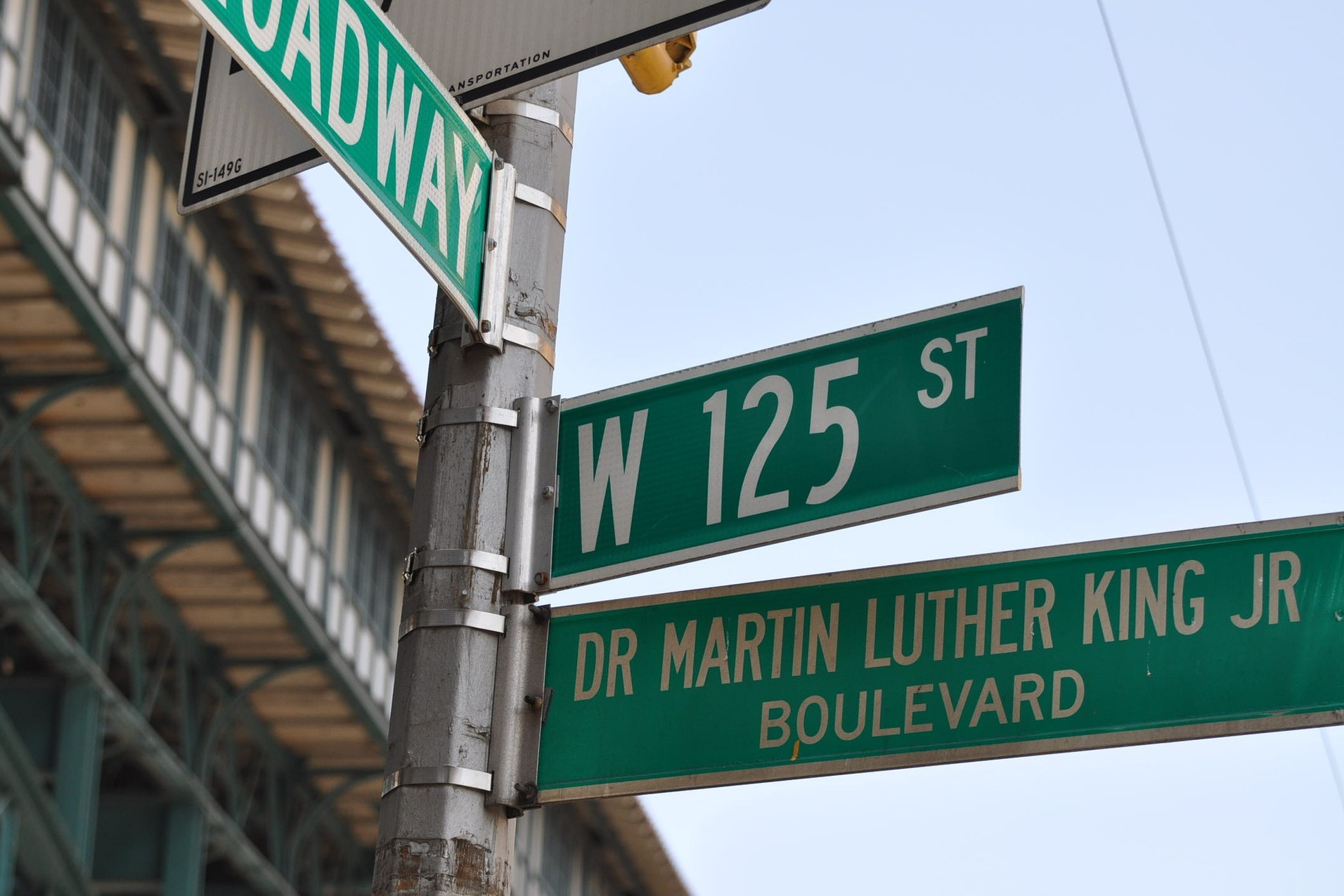 Africa in New York martin luther