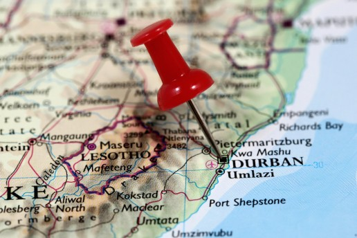 South African Food durban map