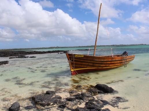 Visiting Mauritius - boot
