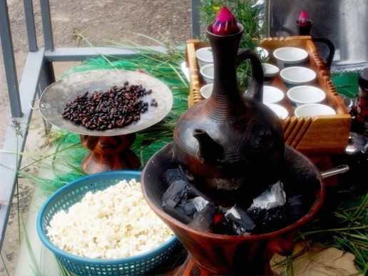 Ethiopian Coffee Ceremony 4