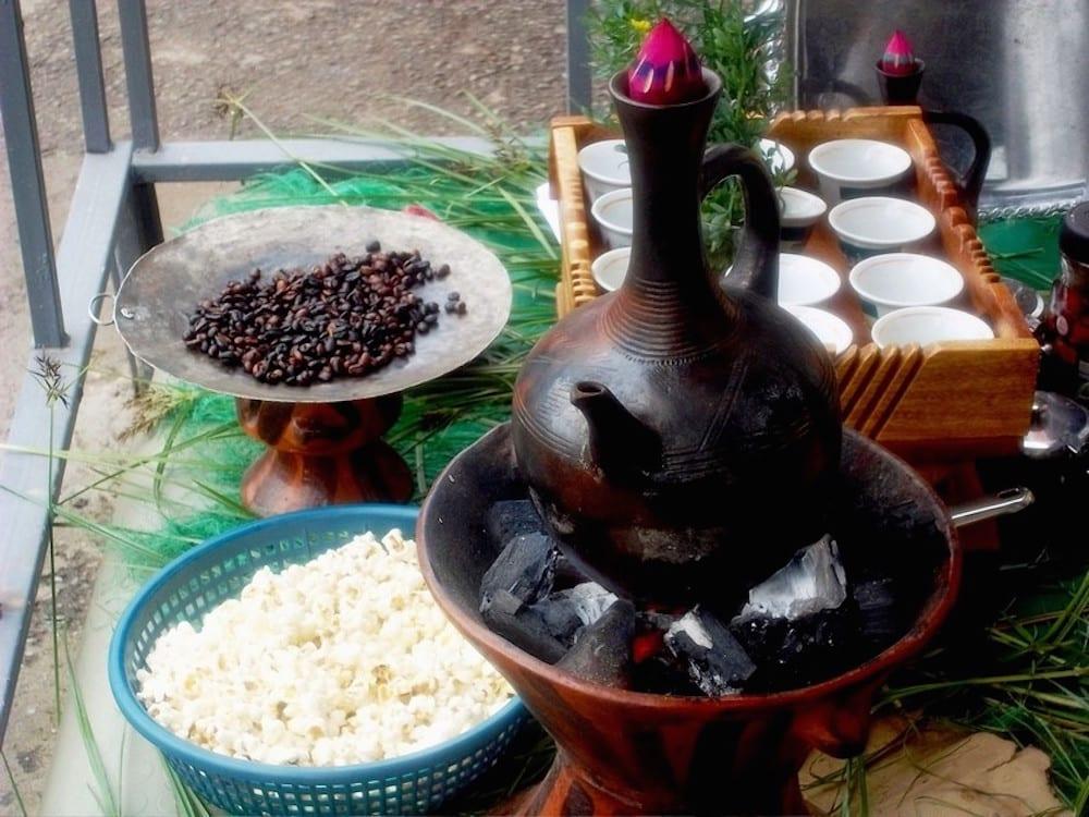 Ethiopian Coffee Ceremony 4