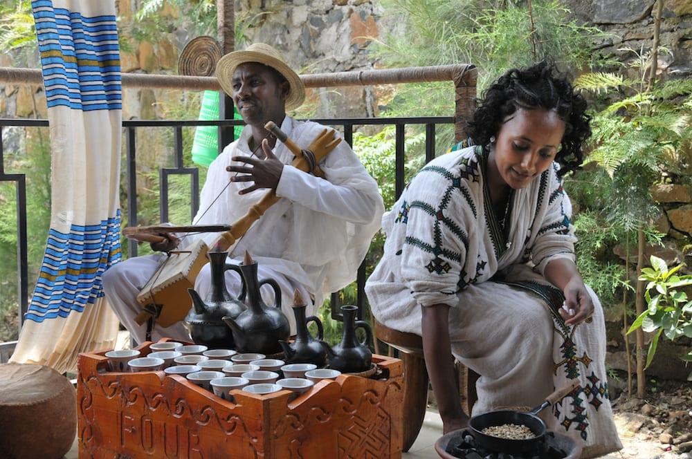 Ethiopian Coffee Ceremony 5