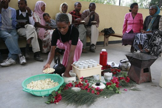 Ethiopian Coffee Ceremony 6