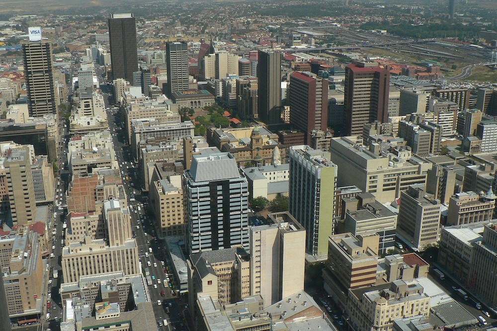 Johannesburg in One Day Johannesburg Panorama