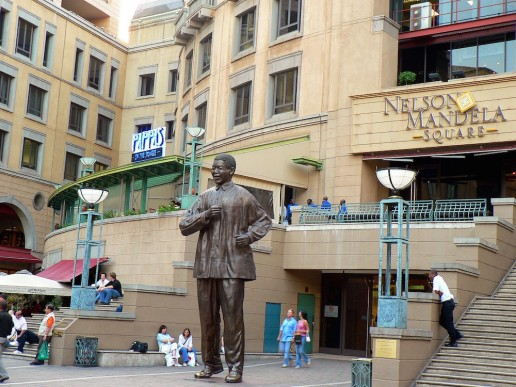 Johannesburg in One Day Nelson Mandela Square Shopping