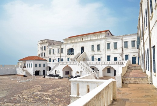 Landmarks in Ghana Cape Coast Castle