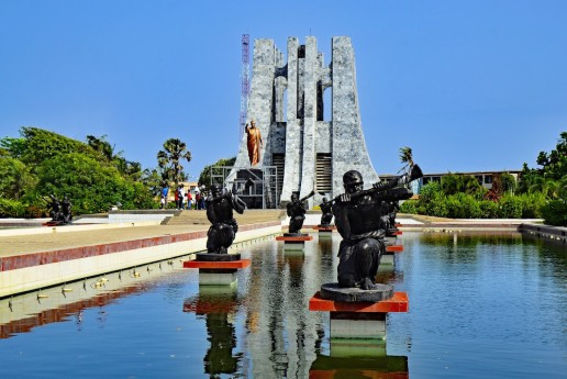 Landmarks in Ghana Kwame Nkrumad Mausoleum