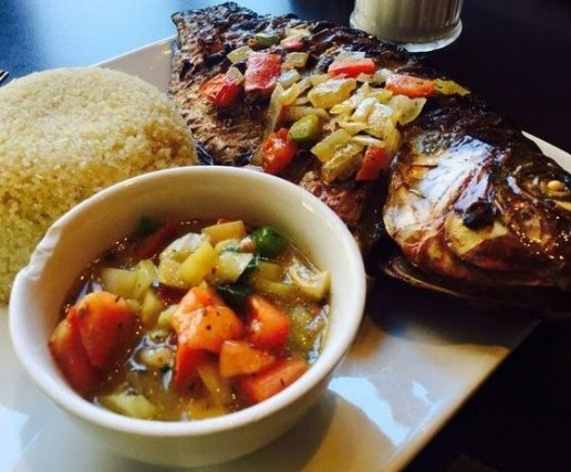 New York Africa Restaurant Week ambassades fish