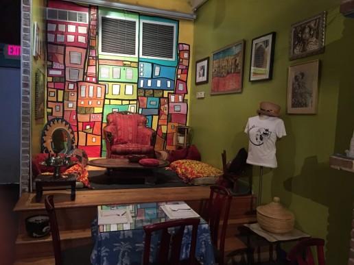 New York Africa Restaurant Week joloffinteriror