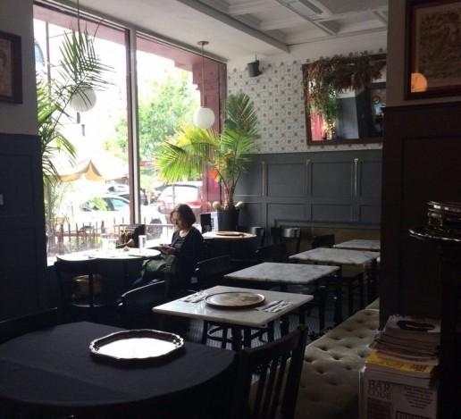New York Africa Restaurant Week tapas bar interior