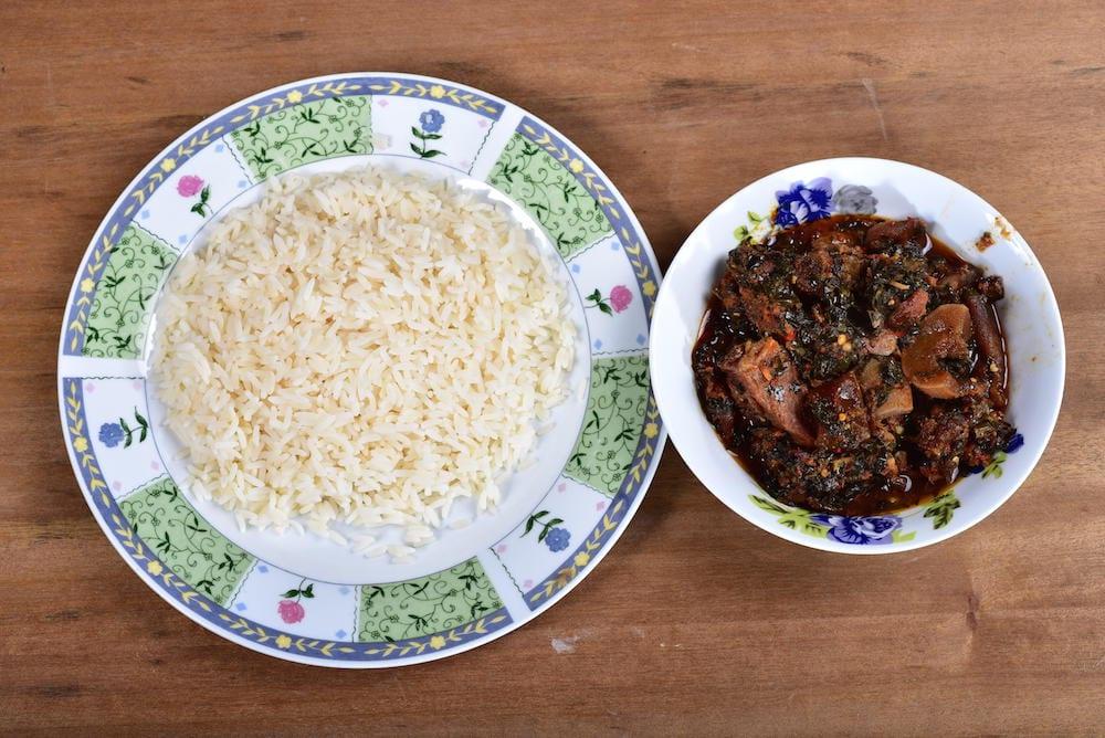 Nigerian Food - efo riro
