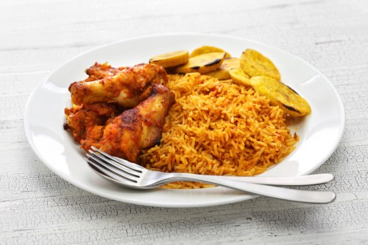 Nigerian Food - Ghanaian Food - jollof rice
