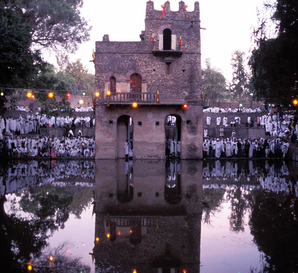 Christmas in Ethiopia Gondar Fasiladas Timket