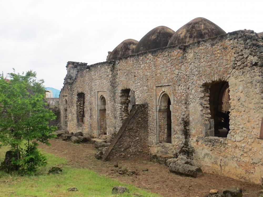 Tanzania Landmarks Great Mosque of Kilwa