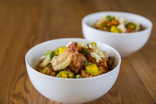 creole food jambalaya