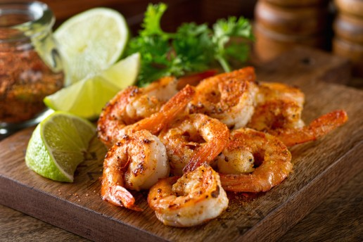 creole food shrimp