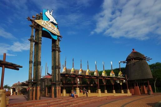 Eingang uShaka Marine World in Durban