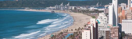 Ethekwini Beach in Durban