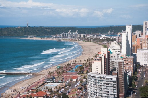 Ethekwini Beach in Durban