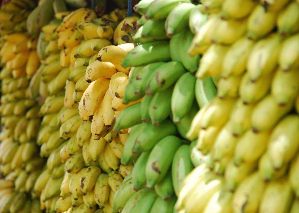 plantains yellow
