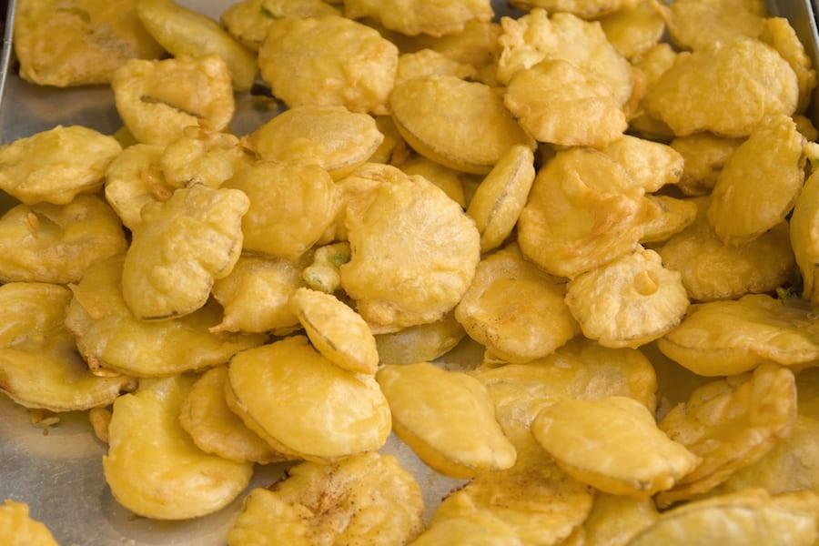African Street Food potato bhajia