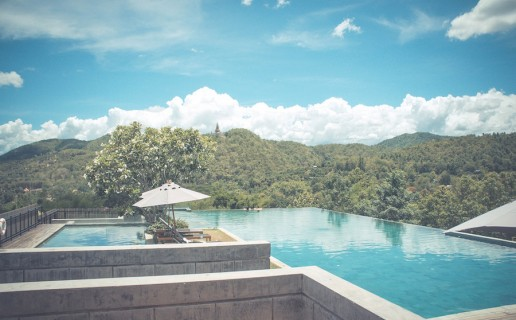 Luxury Getaway Reunion Island infinity pool
