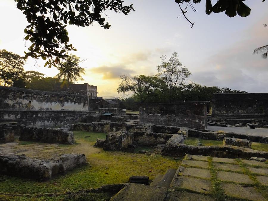 Fort Jesus - Landmarks of Kenya