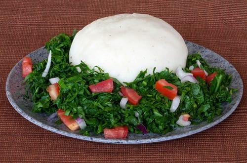 Kenyan Food - Ugali