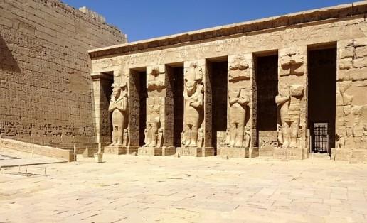 Egypt Travel stone temple Ramses II
