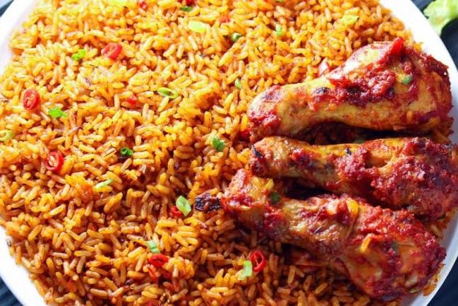 Nigerian jollof rice African Food Facts