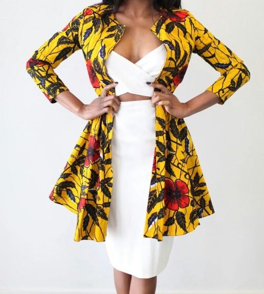 African Dresses jacket